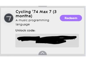 Cycling'74 Max 8