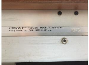 Moog Music Minimoog Model D (2016) (39158)