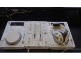 Pack Pioneer White : 2 CDJ 350, 1 DJM 350 avec flycase de transport
