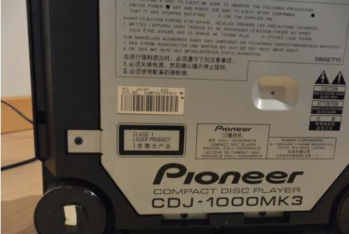 Pioneer CDJ-1000 MK3 (65688)