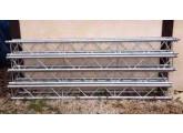 Vends 12m Structure Carrée ASD série SC 300 3m forte charge