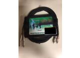 Câble double jack 6.5mm / double RCA Stol