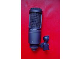 AV Micro à condensateur USB Audio Technica AT2020