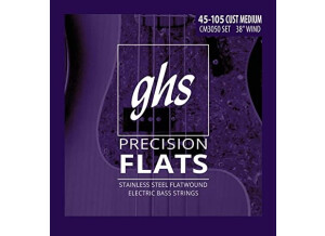 """GHS Precision Flats Long Scale Plus (38"""" winding) 3050 (12895)"""