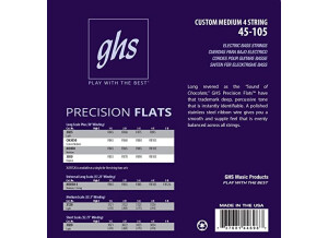 """GHS Precision Flats Long Scale Plus (38"""" winding) 3050 (94775)"""