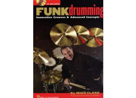 Méthode de Batterie FUNKdrumming by Mike Clark avec CD.