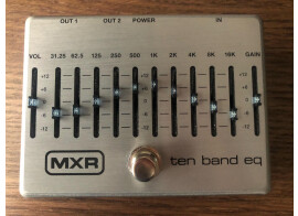 MXR Ten Band equalizer Silver M108SEU
