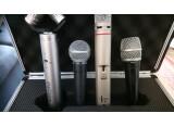 Lot de microphones