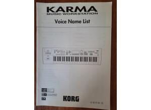 Korg Karma