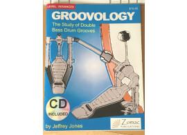 Méthode pour double grosse caisse par Jeffrey Jones, comme neuf, avec CD.