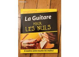 """Livre + cd """"la guitare pour les nuls"""""""