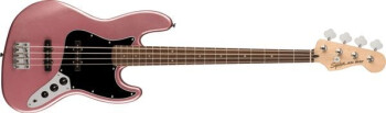 Affinity Jazz Bass Burgundy Mist