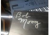 rare etherwave signé par Bob Moog
