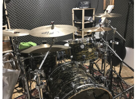DW Drums Collector's Series - Finish ply - Black Ice