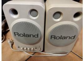 Vend paire de Roland MA-8 blanche
