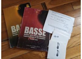donne ou échange METHODE DE BASSE VOL.1 et VOL.2 + CDS par Hans J.Kullock