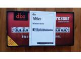 Vends compresseur dbx 166xs - tres bon état