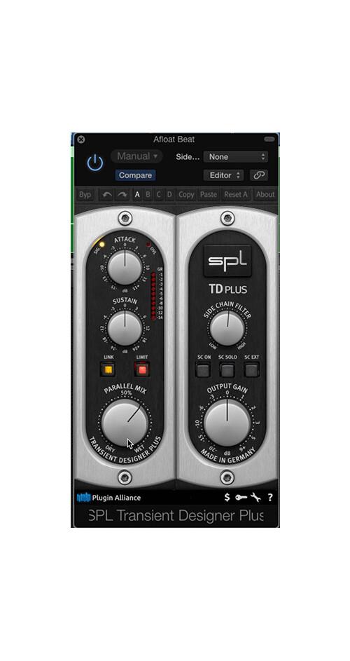 SPL Transient Designer Plus (39600)