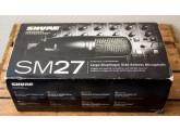 Shure SM27 Large Membrane complet   Etat +++   Colissimo Inclus