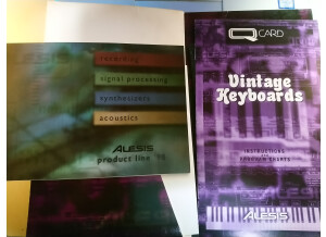 Alesis Z4 Vintage Synthetisers QCard
