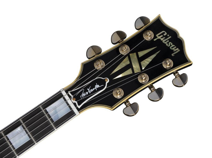 "Peter Frampton ""Phenix"" Inspired Les Paul Customheadstock"