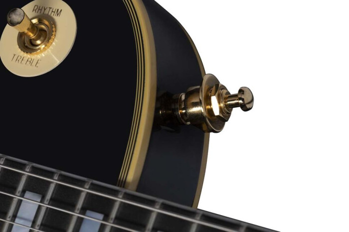 "Peter Frampton ""Phenix"" Inspired Les Paul Customstraplocks"