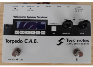 Two Notes Audio Engineering Torpedo C.A.B. (Cabinets in A Box) (63648)