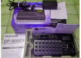 TASCAM DP-0008EX, 8 pistes sur carte SD + alimentation secteur