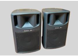 Enceintes Montarbo MT360A (2x350W RMS) Bass-reflex actives à deux voies
