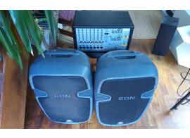 Vends paire d'enceintes JBL Eon 305 + Ampli de puissance et mixeur Phonic Powerpod 740 plus