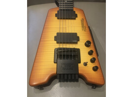 Guitare sans tête baryton Steinberger Synapse Transcale Amber