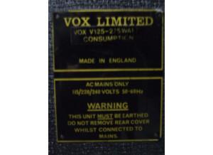 Vox V125 Lead