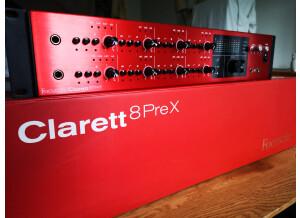 Focusrite Clarett 8PreX