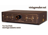8 input Summing Mixer LittleOne Wide 8x4 with 2xSTM TRS VOL CTRL