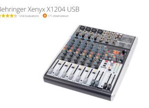 Behringer Xenyx X1204USB