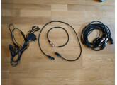 Cables mini jack / XLR + Alimentation pour 5 Volca