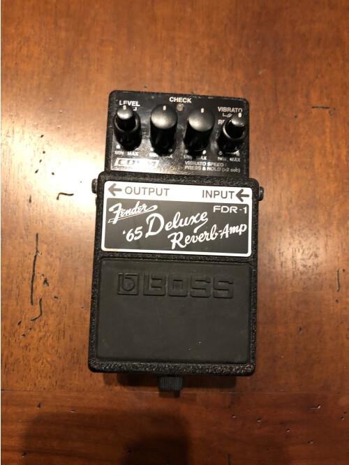 Boss FDR-1 Fender '65 Deluxe Reverb Amp (61950)