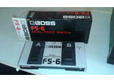 Vends BOSS FS-6 Dual Footswitch