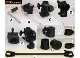 Personnalisez votre rack YAMAHA DTX ... Accessoires , tubes & clamps TBE