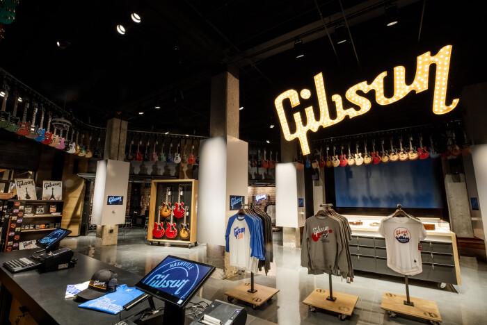 Gibson Garage Interior-1
