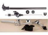 Supports toms , cymbales ,  clamps pour rack batterie éléctronique ROLAND et YAMAHA TBE