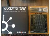 Table de mixage Allen & Heath Xone 92
