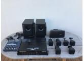 Vends table de mixage YAMAHA + Ampli pro ECLER + 2 Caissons de basses BOSE + 6 enceintes cube BOSE + 1enceinte large bande BOSE