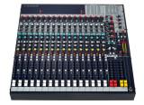 vends console soundcraft 16FXII