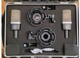 Set de AKG C214 Stereo appairés