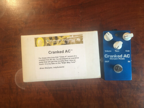 Wampler Pedals Cranked AC (41728)