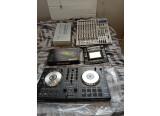 vend TR-09, Synthétiseur korg kaoss pad pro, Table de mixage Alto L-12, Controleur USB pioneer DDJ-SB, Pad reloop neon