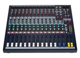 table de mixage avec rack inclus Soundcraft epm 12 comme neuve