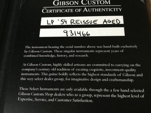 GIBSON les Paul R9 9
