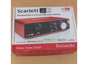 Focusrite Scarlett2 2i2